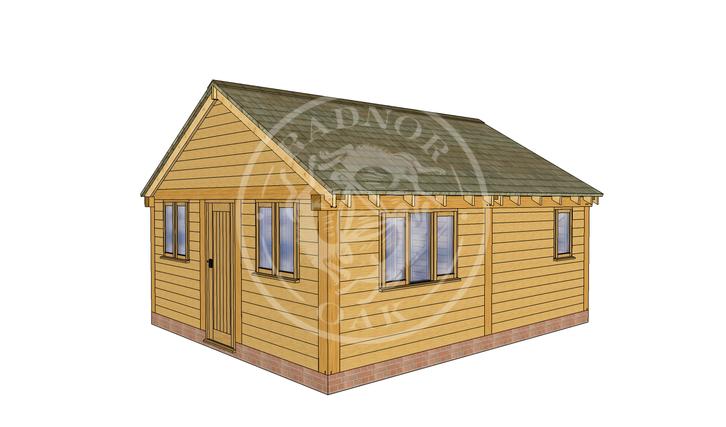 Oak Framed Summer House | Radnor Oak | SHL004 | RHB