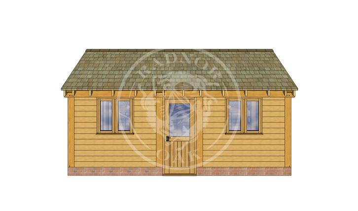 Oak Framed Annexe | Radnor Oak | SHL005 | FRONT