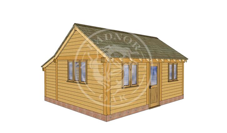 Oak Framed Annexe | Radnor Oak | SHL005 | LHE