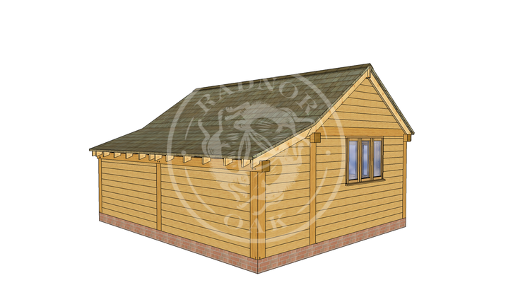 Oak Framed Annexe | Radnor Oak | SHL005 | LHB