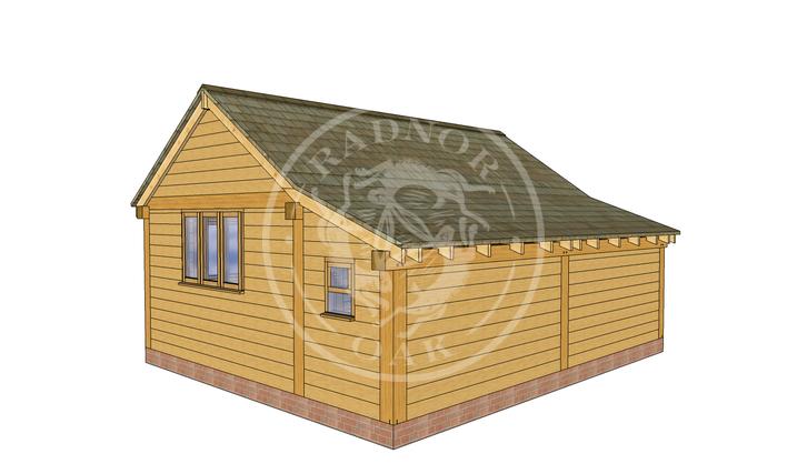 Oak Framed Annexe | Radnor Oak | SHL005 | RHB