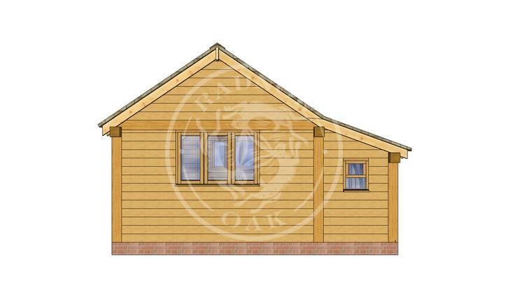 Oak Framed Annexe | Radnor Oak | SHL005 | RIGHT