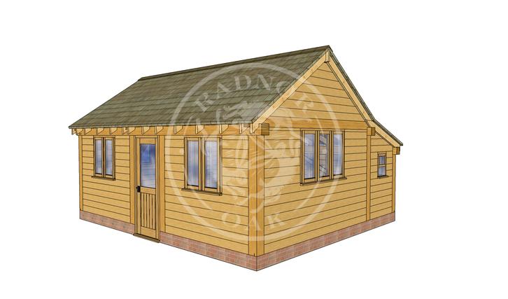 Oak Framed Annexe | Radnor Oak | SHL005 | RHE
