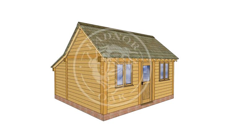 Oak Framed Annexe   Radnor Oak   SHL006   LHE