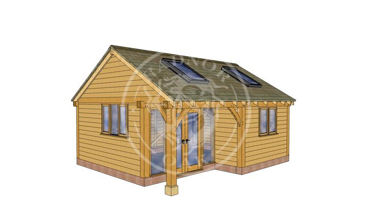 Oak Framed Annexe | Radnor Oak | SHL007 | LHE