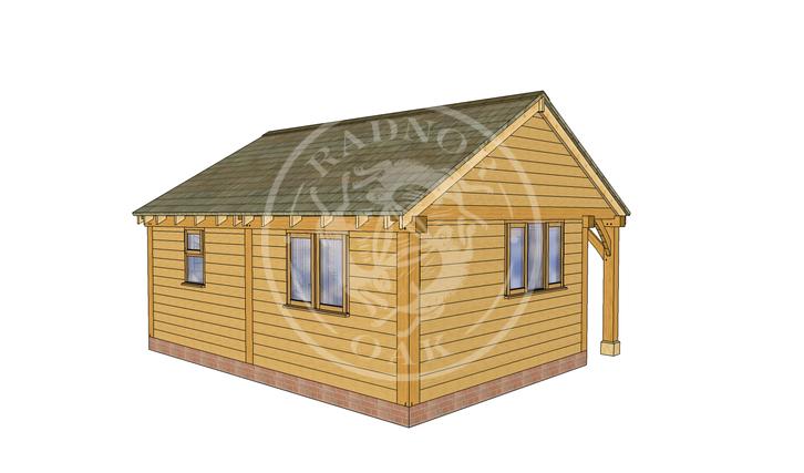 Oak Framed Annexe | Radnor Oak | SHL007 | LHB