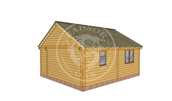 Oak Framed Annexe | Radnor Oak | SHL007 | RHB