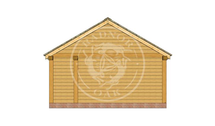 Oak Framed Annexe | Radnor Oak | SHL007 | RIGHT