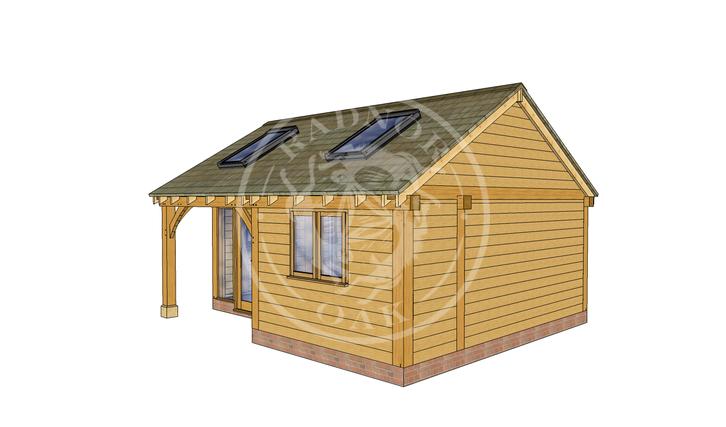 Oak Framed Annexe | Radnor Oak | SHL007 | RHE