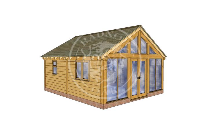 Oak Framed Annexe | Radnor Oak | SHL008 | LHE