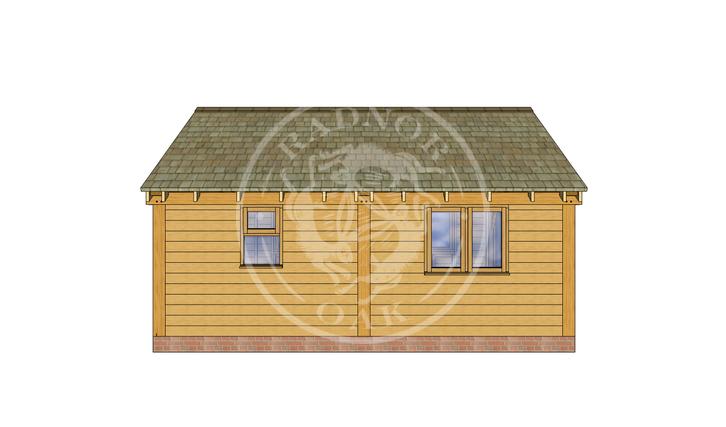 Oak Framed Annexe | Radnor Oak | SHL008 | LEFT