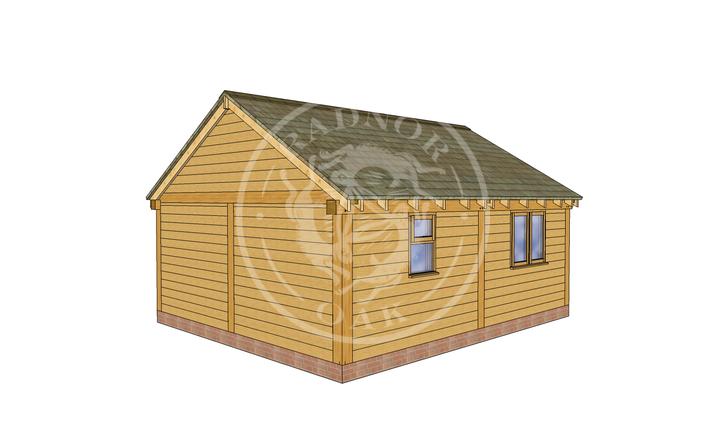 Oak Framed Annexe | Radnor Oak | SHL008 | LHB