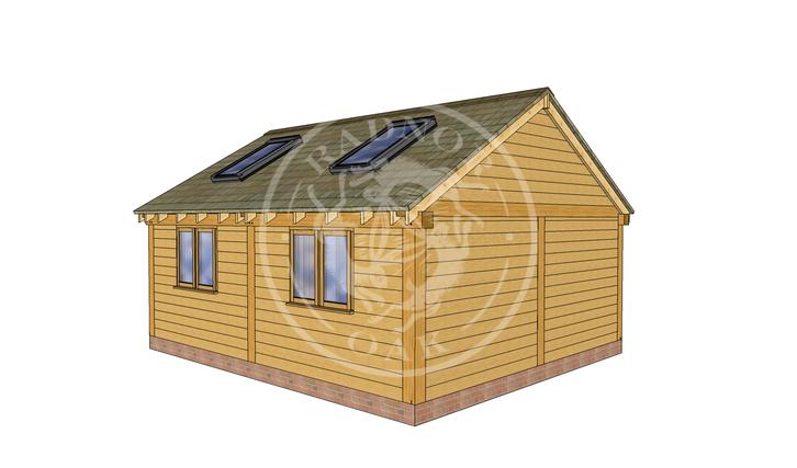Oak Framed Annexe | Radnor Oak | SHL008 | RHB