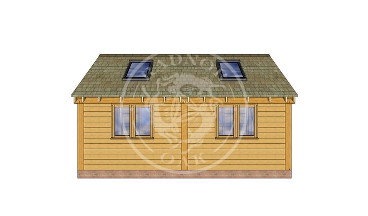 Oak Framed Annexe | Radnor Oak | SHL008 | RIGHT