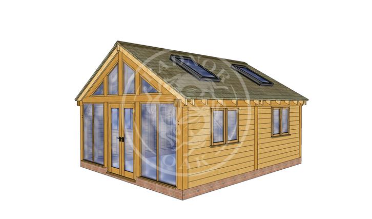 Oak Framed Annexe | Radnor Oak | SHL008 | RHE