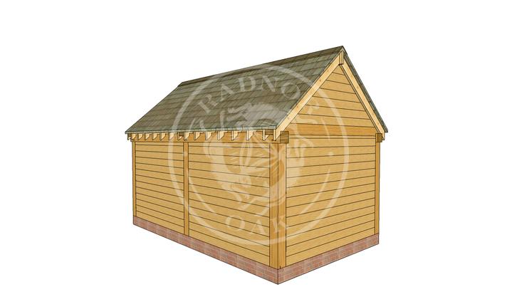 Oak Framed Summer House | Radnor Oak | SHM001 | LHB
