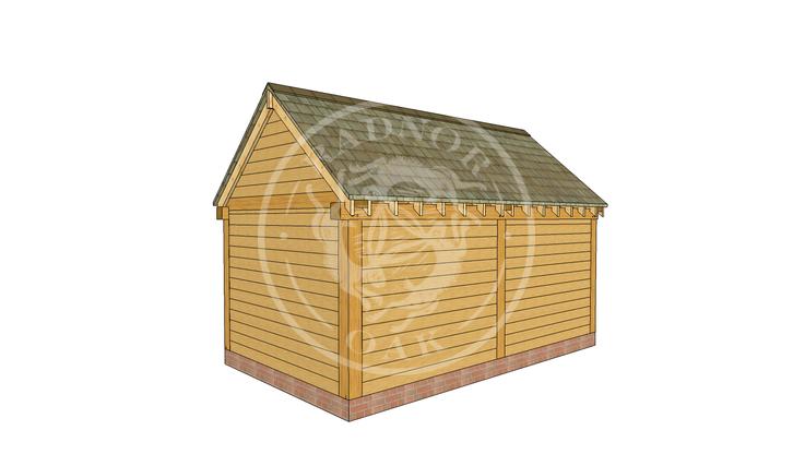 Oak Framed Summer House | Radnor Oak | SHM001 | RHB