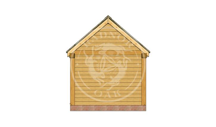 Oak Framed Summer House | Radnor Oak | SHM001 | RIGHT