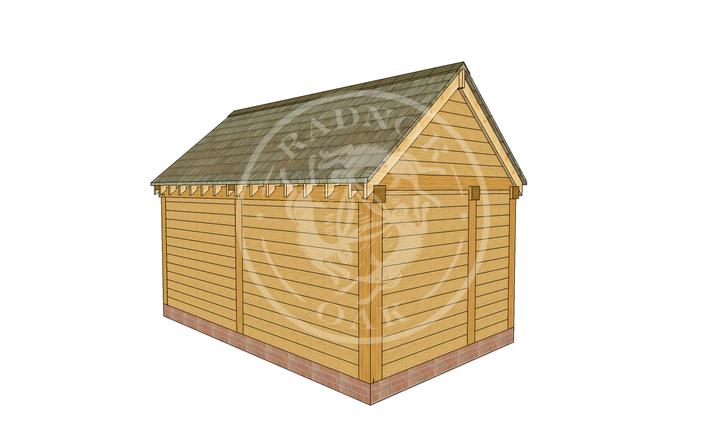 Oak Framed Summer House | Radnor Oak | SHM002 | LHB