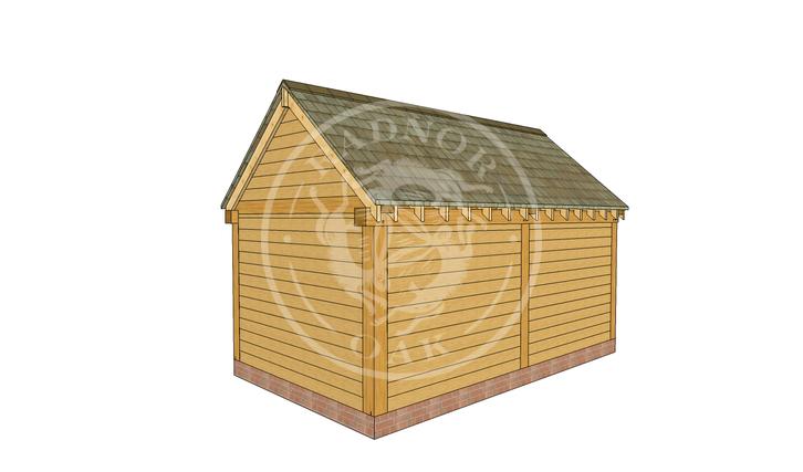 Oak Framed Summer House | Radnor Oak | SHM002 | RHB