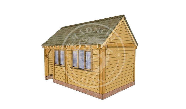 Oak Framed Summer House | Radnor Oak | SHM002 | RHE