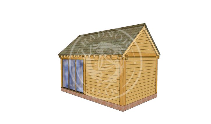 Oak Framed Summer House | Radnor Oak | SHM003 | RHB