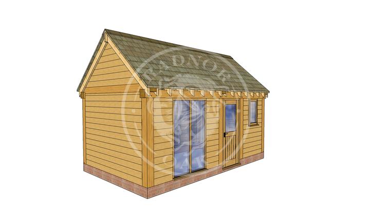 Oak Framed Summer House | Radnor Oak | SHM004 | LHE