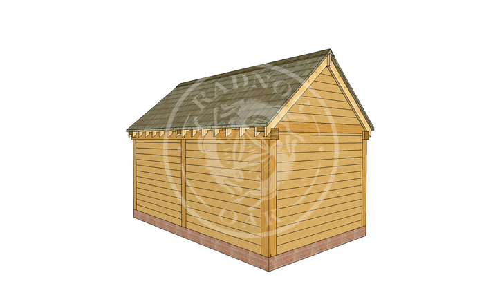 Oak Framed Summer House | Radnor Oak | SHM004 | LHB