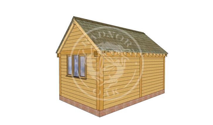 Oak Framed Summer House | Radnor Oak | SHM004 | RHB
