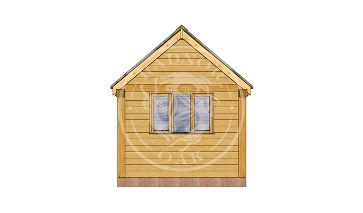 Oak Framed Summer House | Radnor Oak | SHM004 | RIGHT