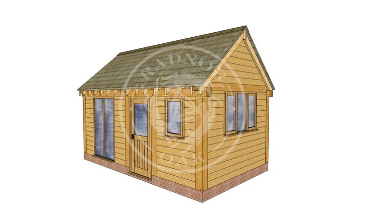 Oak Framed Summer House | Radnor Oak | SHM004 | RHE