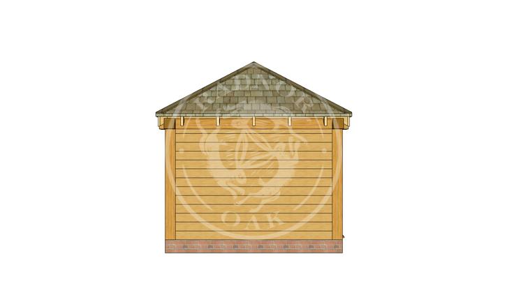 Oak Framed Summerhouse | Radnor Oak | SHS001 | LEFT
