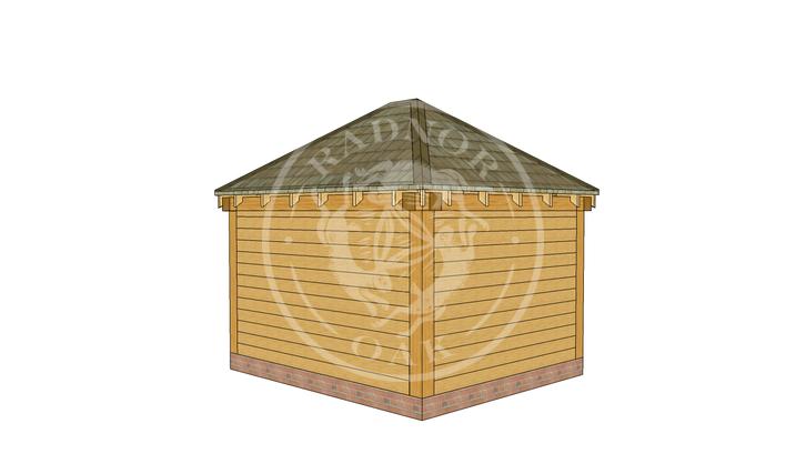 Oak Framed Summerhouse | Radnor Oak | SHS001 | LHR