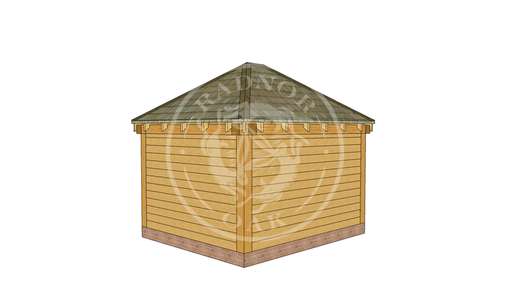 Oak Framed Summerhouse | Radnor Oak | SHS001 | RHB