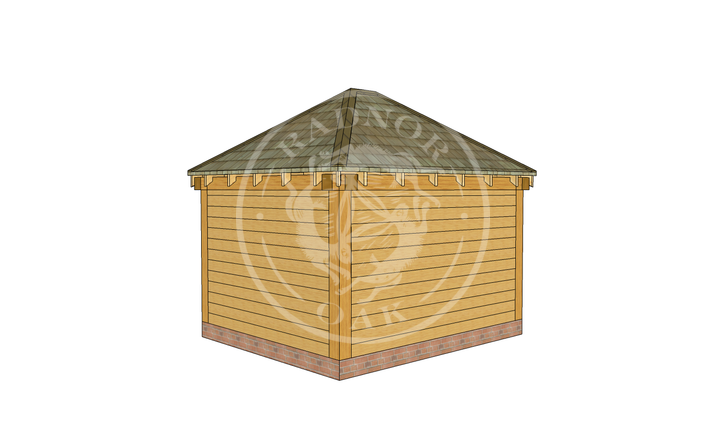 Oak Framed Summerhouse | Radnor Oak | Model No. SHS002 | RHB