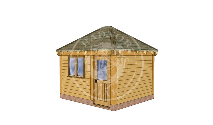 Oak Framed Summerhouse | Radnor Oak | SHS002 | RHE