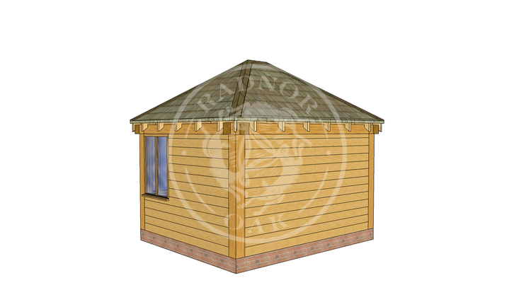 Oak Framed Summer House | Radnor Oak | SHS003 | RHB