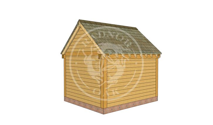 Oak Framed Summer House | Radnor Oak | SHS004 | RHB