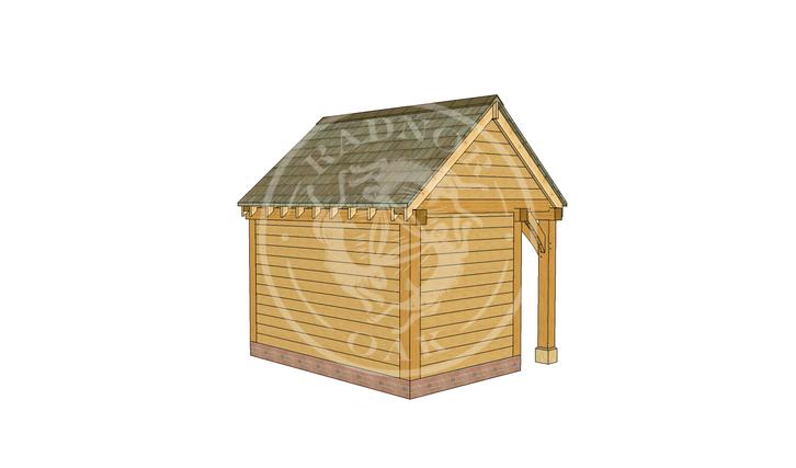Oak Framed Summer House | Radnor Oak | SHS005 | LHB