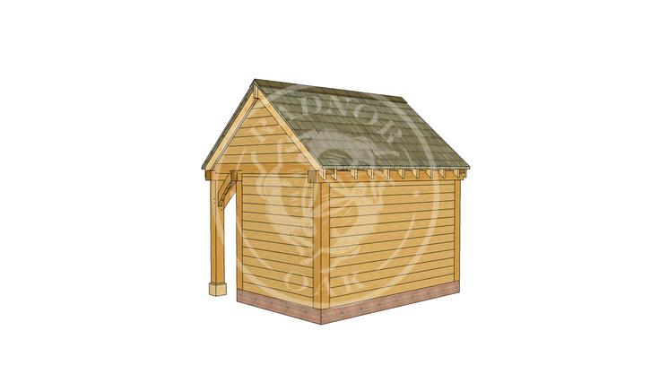 Oak Framed Summer House | Radnor Oak | SHS005 | RHB