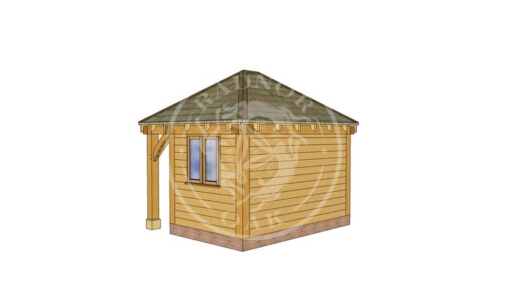 Oak Framed Summer House | Radnor Oak | SHS006 | RHB