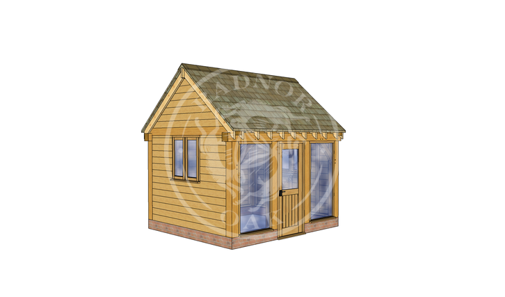 Oak Framed Summer House | Radnor Oak | SHS007 | LHE