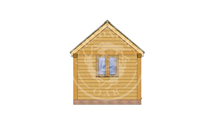 Oak Framed Summer House | Radnor Oak | SHS007 | LEFT