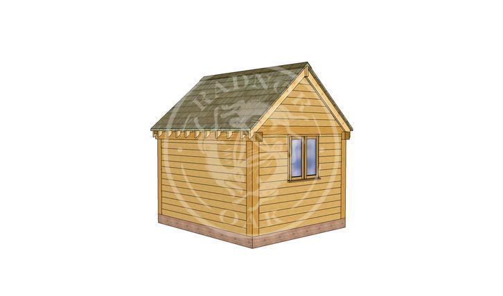 Oak Framed Summer House | Radnor Oak | SHS007 | LHB
