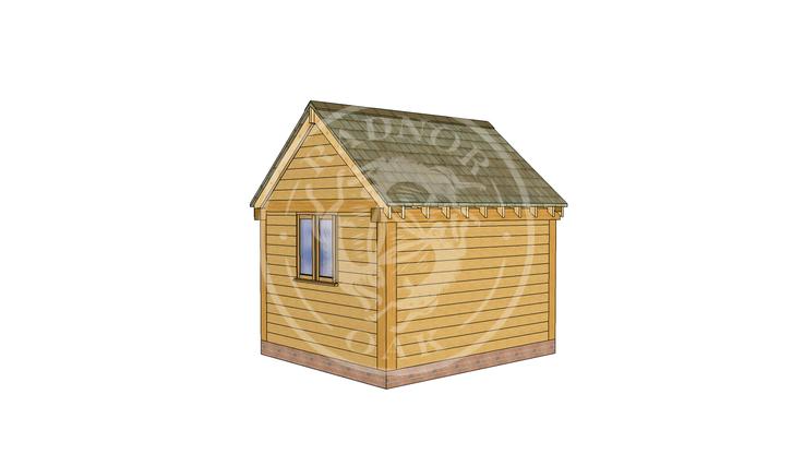 Oak Framed Summer House | Radnor Oak | SHS007 | RHB