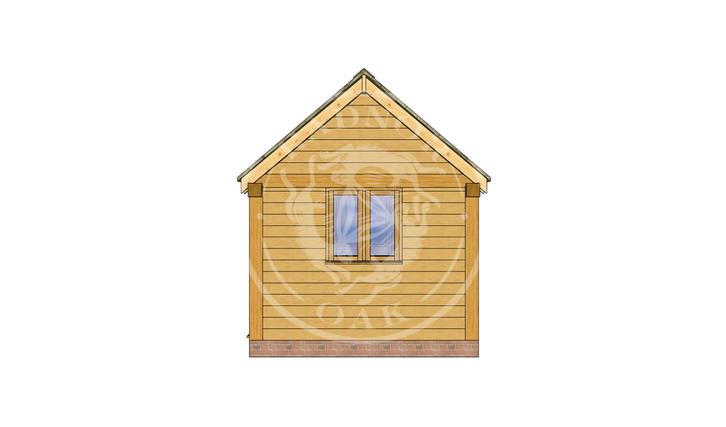 Oak Framed Summer House | Radnor Oak | SHS007 | RIGHT