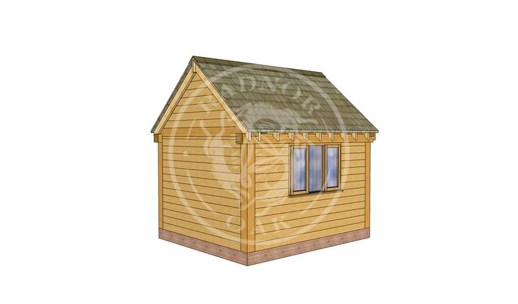 Oak Framed Summer House | Radnor Oak | SHS008 | LHB