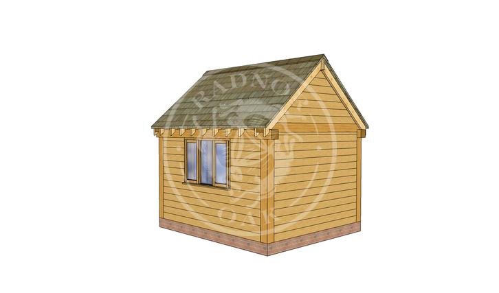Oak Framed Summer House | Radnor Oak | SHS008 | RHB
