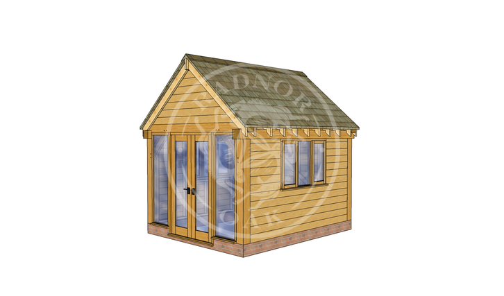 Oak Framed Summer House | Radnor Oak | SHS008 | RHE