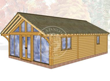 Oak Framed Annexe | Radnor Oak | ANX-BYL3001 | Main Image